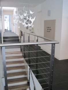 Treppe, Tags Beim Treppenaufgang