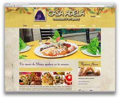 Fotografía y Desarrollo web para CasaAdela.com