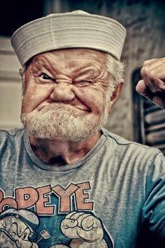 Popeye - can I please meet this wonderfully wrinkly old gentleman??