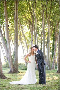 Kent Manor Inn First Look - Eastern Shore Wedding Photographer