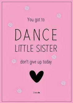 Dance little sister | Elske | #100daysofsisters | www.elskeleenstra.nl