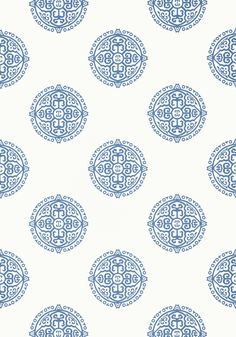 HALIE CIRCLE, Blue, T36170, Collection Enchantment from Thibaut