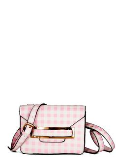 Corner Candy Shop Bag. While you cant decide between jellybeans and lollipops at the candy shop, youre glad you chose this cute pink-and-cream gingham bag by Kling! #pinkNaN