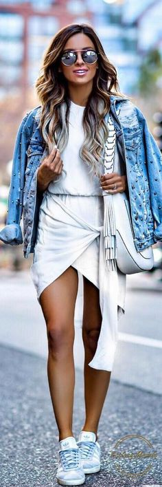 Casual Spring Pieces // Fashion Look by Mia Mia Mine