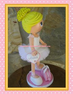 El taller de la marquesa: Fofucha bailarina