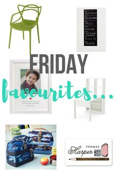 Friday Favourites : Back to School - it's that time of year again - are you ready? I'm starting to get ready now with 3 kids in school there's lots to do...here are some of my favourite BTS items right now...home decor, decor ideas, home styling