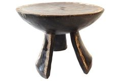 African Baule Stool  from Cote d'Ivoire
