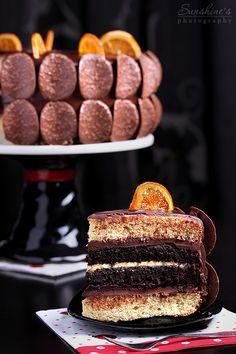 Narancsos csokoládétorta recept