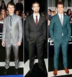 Ansel Elgort, Theo James, and Miles Teller :)
