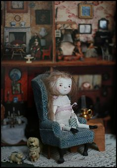 very sweet cloth doll
