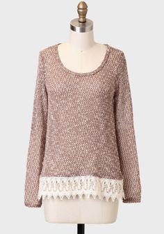 Spiced Chai Marled Sweater
