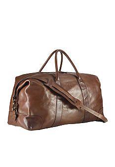 bb6a2d6ae2b0 Polo Ralph Lauren Leather Duffle Bag. Mens Travel ...