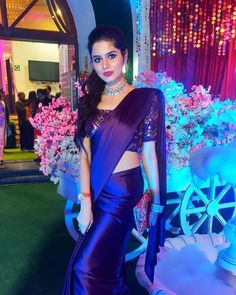 Image may contain: one or more people, people standing and indoor Beautiful Girl Indian, Most Beautiful Indian Actress, Beautiful Saree, Saree Photoshoot, Bridal Photoshoot, South Indian Wedding Saree, Satin Saree, Silk Sarees, Sarees For Girls