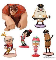 Disney Infinity Wreck-It Ralph and Vanellope | New Disney Store Wreck It Ralph Sugar Rush Sugartown PVC Figurine ...