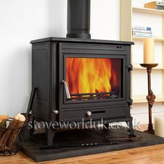 COSEYFIRE 22  WOODBURNING CAST IRON STOVE STOVE FIRE WOODBURNER MULTI FUEL