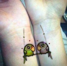 I tatuaggi di coppia più belli