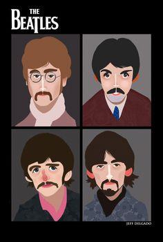 The Beatles by Jeff Delgado