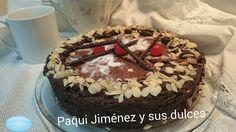 Paqui Jimenez y sus dulces creaciones: Tarta de chocolate mantequilla y almendras