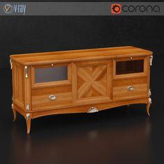 Vittorio Griffoni TV stand  #models #3dmodeling #modeling #turbosquid #3dartist #viktor_log #design #interior