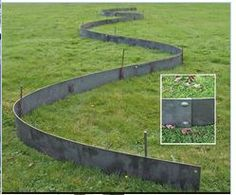 EverEdge Titan is manufactured from hot dip galvanised steel. The steel can be shaped and bent to whatever requirements, ideal for creating creative lawn designs