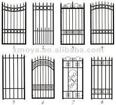New Metal Door Design Wrought Iron Garden Gates Ideas Wrought Iron Garden Gates, Wrought Iron Stairs, Metal Gates, Wrought Iron Gate Designs, Metal Doors, Tor Design, Fence Gate, Gabion Fence, Fence Doors