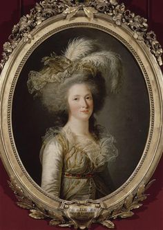 Madame Élisabeth, sister of Louis XVI, 1788.