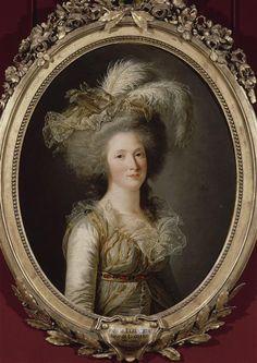 Madame Élisabeth, sister of Louis XVI, 1788.