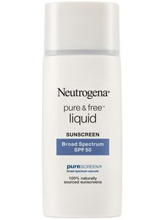 This fragrance-free Neutrogena sunscreen for the face is ideal for sensitive skin.
