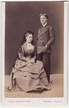 Princess Louise and her husband the Marquess of Lorne.