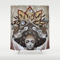 Douceurs de Virginie Shower Curtain