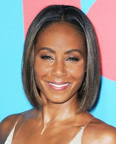 The Best Celebrity Bobs - Jada Pinkett Smith from #InStyle