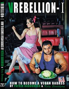 VREBELLION // In this book, Patrik Baboumian who is one of the world's strongest men turns the most common stereotypes about vegans upside down // 20 €