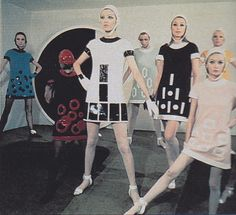Pierre Cardin creations 1968 | Flickr - Photo Sharing!