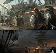 Assassins Creed IV Black Flag, POR Dechambo |  THECAB - O Blog Concept Art