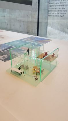 Transparent model for a house. Architectural Presentation, T5, Art And Architecture, Home Projects, Concept, Models, House, Getting Pregnant, Space