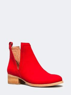 Questions For Couple Shoe Game Red Shoes, Sock Shoes, Cute Shoes, Me Too Shoes, Ankle Booties, Bootie Boots, Shoe Boots, Red Booties, Flat Booties