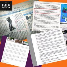 Halu Design | acción de prensa para Halu Design, foco servicio de diseño gráfico. Publicaciones: El Cronista Comercial  (papel + web) + Enamodate.com (web + facebook) + Keomag.com (web + facebook)