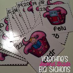 Second grade ELA stations!