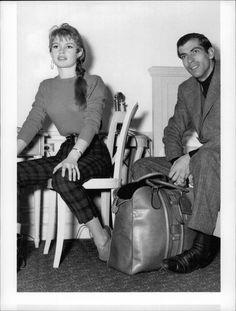 Vintage photo of Actress Brigitte Bardot with Roger Vadim | eBay