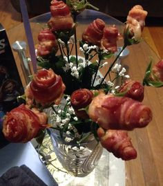 Bacon roses!!!