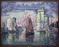 Paul Signac - P.Signac / Port de La Rochelle 1921