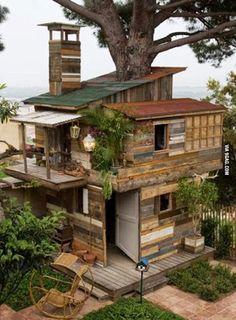 Nice treed house