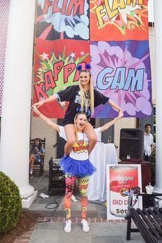 Pop Art Bid Day 2016 - Kappa is Poppin'! | Ole Miss Kappa Kappa Gamma