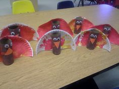 TP Roll & Paper Plate Turkeys!