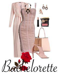 """Bachelorette!"" by flippintickledinc ❤ liked on Polyvore featuring Balmain, Dolce&Gabbana, Fendi, Aquazzura, Nikos Koulis, Suzy Levian, Bobbi Brown Cosmetics, Philippe Ferrandis and Bachelorette"
