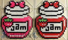 Strawberry Jam perler beads by PerlerPixie