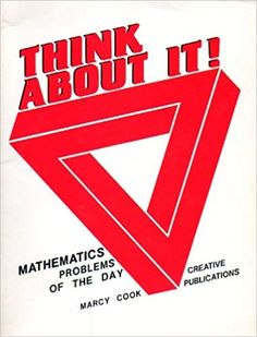 Think About It Mathematics Problems of the Day (Grade (Item # Teacher Books, Mathematics, Cook Books, Letters, Day, Amazon, Math, Amazons, Riding Habit