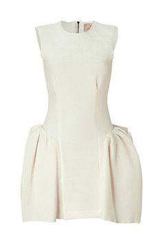 STYLEBOP.com | IvoryCottonCrepeDressbyROKSANDAILINCIC | the latest trends from the capitals of the world