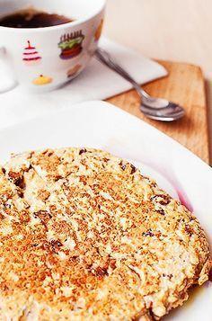 dietetyczny placek śniadaniowy Fast Healthy Meals, Healthy Eating, Healthy Recipes, Brunch, Sweet Breakfast, Breakfast Ideas, Polish Recipes, Food Design, Sweet Recipes