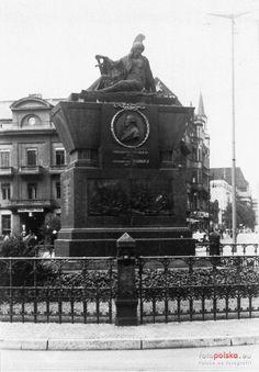 Pomnik Friedricha Bogislava von Tauentziena (Tauentzien Denkmal), Wrocław - 1938 rok, stare zdjęcia